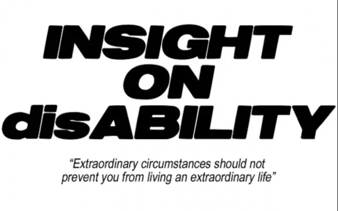 Podcast guest appearance on INSIGHT ON disABILITY