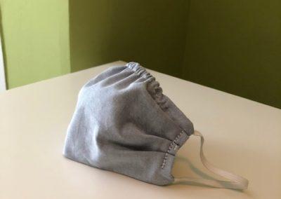 Smart Adaptive Clothing Mask light blue