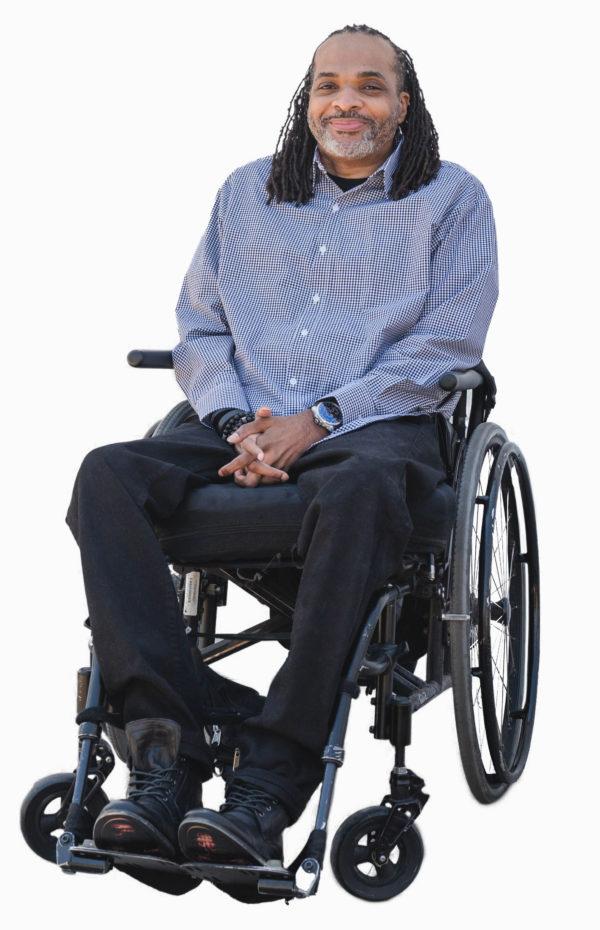 Adaptive Shirt - blue - men's adaptive clothing